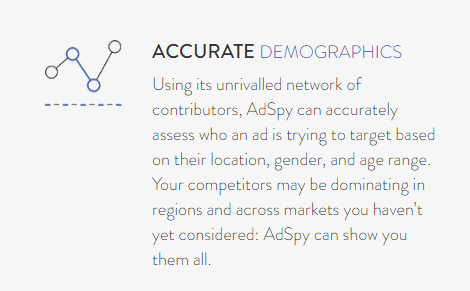 Accurate Demographics + AdSpy free Trial